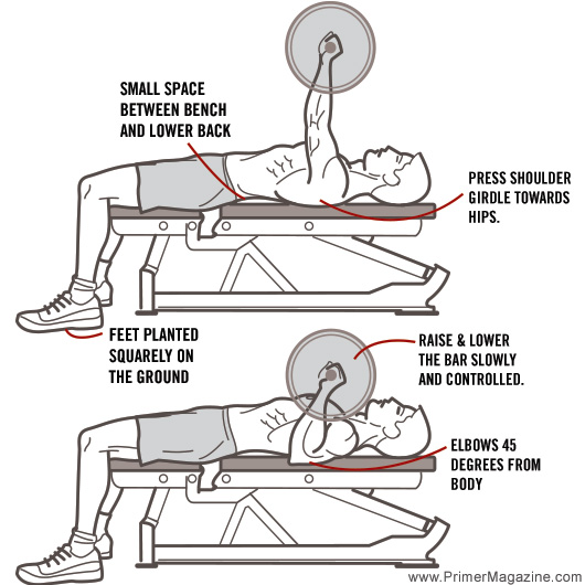 Good Bench Form: Mobility Monday: How To Turn Your Bench Press From Bro To Pro
